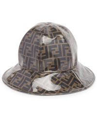 268d416d31ae8 Fendi Double-f Logo Patch Cap in Black for Men - Lyst
