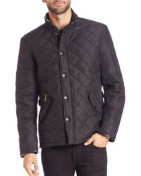 Barbour - Powell Quilted Coat - Lyst
