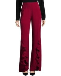 Saloni - Sable Cady Trousers - Lyst