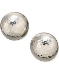 Ippolita - Glamazon Sterling Silver Button Earrings - Lyst