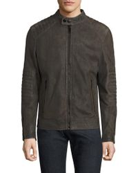 Strellson - Shift Suede Jacket - Lyst