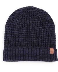 Bickley + Mitchell - Faux Sherpa-lined Thermal Cuff Beanie - Lyst