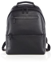 Saks Fifth Avenue - Oblique-zip Leather Backpack - Lyst