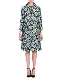 Dolce & Gabbana - Floral Jacquard Coat - Lyst