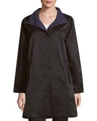 Eileen Fisher - Reversible Long Coat - Lyst
