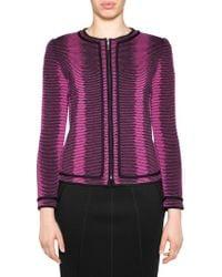 Stizzoli - Wool Stripe Tailored Jacket - Lyst