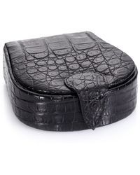 Santiago Gonzalez - Crocodile Cuff Links & Case - Lyst