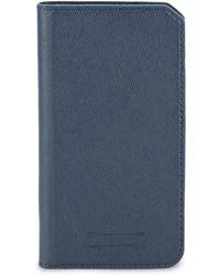 Uri Minkoff - Saffiano Leather Folio Iphone 7 Case - Lyst