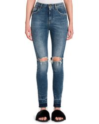 Dolce & Gabbana | Distressed Skinny Jeans | Lyst