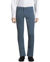 Corneliani | Slim-fit Cotton Pants | Lyst