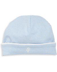 Ralph Lauren - Baby's Gingham Cotton Hat - Lyst