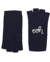 Portolano - Yes No Cashmere Fingerless Gloves - Lyst