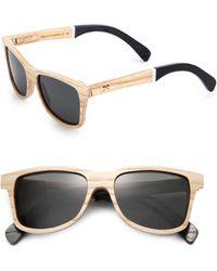 Shwood - Canby Slugger Wooden Bat Sunglasses - Lyst