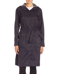 Helly Hansen - Snap Front Trench Coat - Lyst