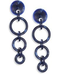 Lele Sadoughi Wind Chime Hoop-Drop Earrings MqR23U0Z