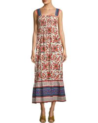 Joie - Chisuzu Batik Maxi Dress - Lyst