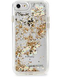 Rebecca Minkoff - Mini Holographic Iphone 7 Case - Lyst