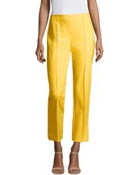 ESCADA - Tuska High-waist Cropped Trousers - Lyst