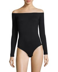 Cosabella - Minimalista Off-the-shoulder Bodysuit - Lyst