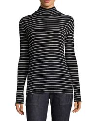 Derek Lam - Striped Turtleneck Pullover - Lyst