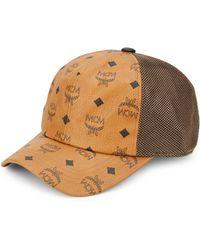 MCM - Visetos Canvas Mesh Baseball Cap - Lyst
