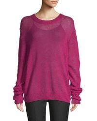 Elizabeth and James - Rosalie Oversized Wool Blend Pullover - Lyst