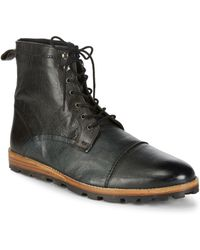 Ben Sherman - Andres Leather Ankle Boots - Lyst