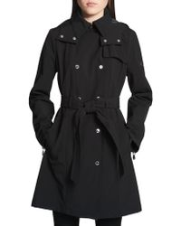 CALVIN KLEIN 205W39NYC - Classic Hooded Trench Coat - Lyst