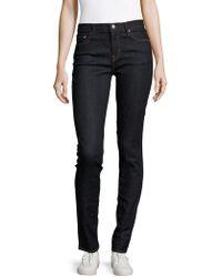 Earnest Sewn - Natasha Solid Cotton-blend Jeans - Lyst