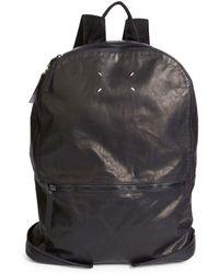 Maison Margiela - Zip Leather Backpack - Lyst