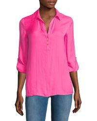 Lilly Pulitzer - Everglades Blouse - Lyst