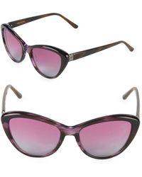 Vera Wang - 54mm Butterfly Sunglasses - Lyst