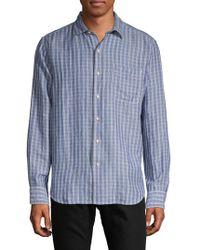 Tommy Bahama - Virtual Plaid Button-down Shirt - Lyst