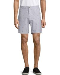 Sovereign Code - Surf City Palm Cotton Shorts - Lyst