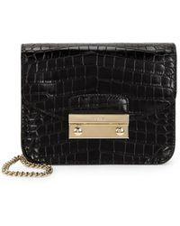 Furla - Julia Cocco Leather Crossbody Bag - Lyst