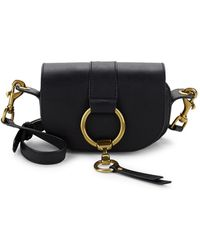 Frye - Ilana Harness Leather Mini Saddle Bag - Lyst