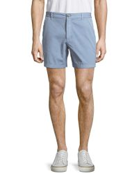 Original Paperbacks - Solid Cotton Shorts - Lyst