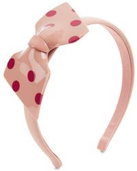 RED Valentino - Polka Dot Hair Band - Lyst