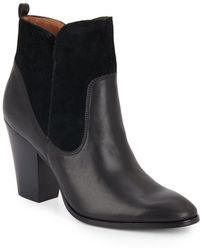 Donald J Pliner - Leather & Suede Ankle Boots - Lyst