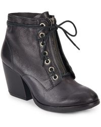 Kork-Ease - Kalpana Leather Booties - Lyst