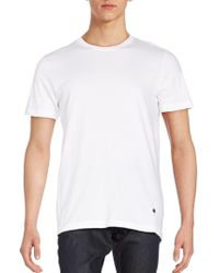 Lucky Brand - Crew Neck Tee - Pack Of 3 - Lyst