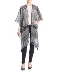 Saks Fifth Avenue Black Label - Alleyways Kimono Jacket - Lyst