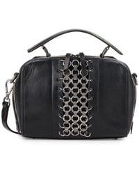 DANNIJO - Ricci Chain-trimmed Leather Crossbody Bag - Lyst