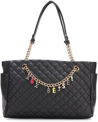 Betsey Johnson - Give Me A B Quilted Satchel - Lyst