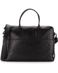Ben Minkoff - Fulton Leather Briefcase - Lyst
