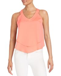 19 Cooper - Double Layered Top - Lyst