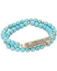 Elise M - Nola Double Wrap Bracelet - Lyst