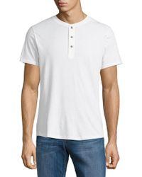Alternative Apparel - Short-sleeved Henley Shirt - Lyst
