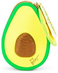 Betsey Johnson - Avocado & Lime Wristlet - Lyst