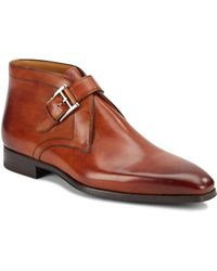 Saks Fifth Avenue - Monk-strap Leather Oxfords - Lyst